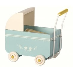 Maileg MY Pram - Blue