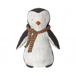 Maileg Penguin Boy - Grey/Yellow