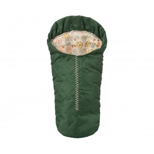 Maileg Small Mouse Sleeping Bag - Green