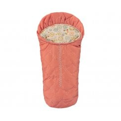 Maileg Small Mouse Sleeping Bag - Peach