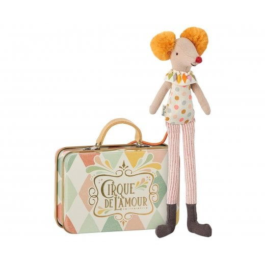 Maileg Stilt Clown in Suitcase