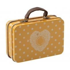 Maileg Suitcase-Yellow Dot