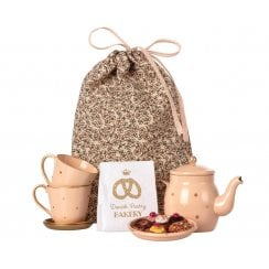 Maileg Tea & Biscuits Set - Pink