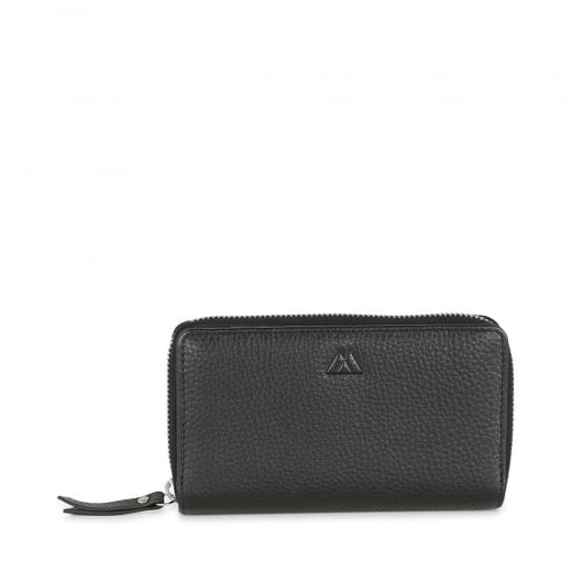 Markberg Black Grain Wallet