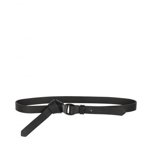 Markberg Black Velvet Belt