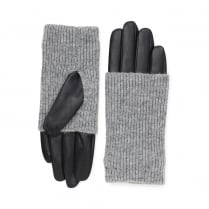 Markberg Helly Glove - Black with Grey Knit
