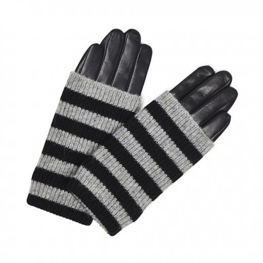 Markberg Helly Glove - Black with Stripes