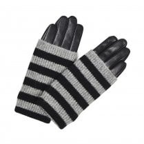 Markberg Helly Glove - Black with Stripes