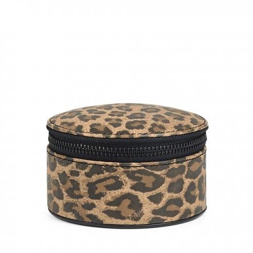 Markberg Lova Small Jewellery Box - Leopard Print