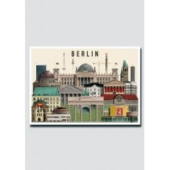 Martin Schwartz Berlin 111 City Card A5