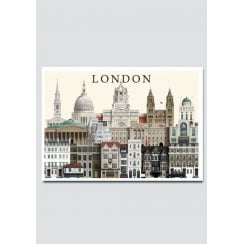 Martin Schwartz London 11 City Card A5