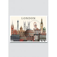 Martin Schwartz London 111 City Card A5