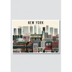 Martin Schwartz New York 11 City Card A5
