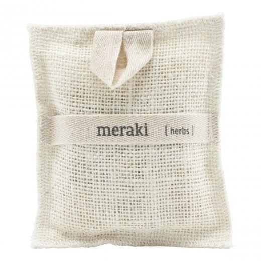Meraki Bath Mitt - Herbs