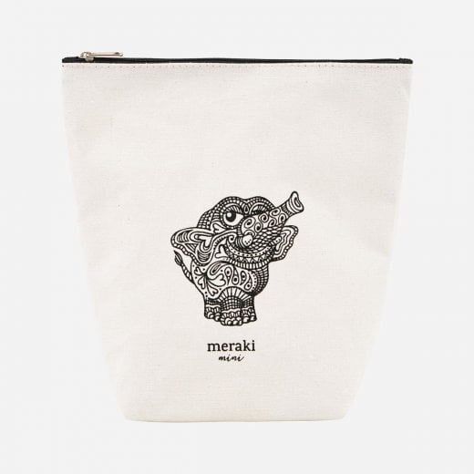Meraki Doddy White Toilet Bag