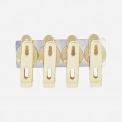 Monograph Brass Magnets with Clips