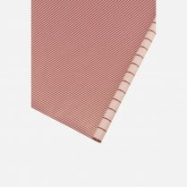 Monograph Wrapping Paper Red Strip