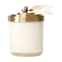 Mor Caramel and Vanilla Bean Scented Candle