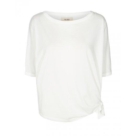 Mos Mosh Avita Wash Tie Top - Off White
