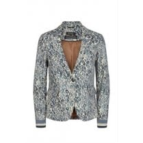 Mos Mosh Blue Print Jacket