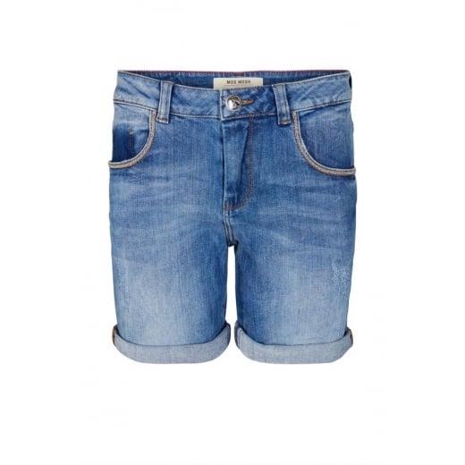 Mos Mosh Bradford Block Shorts