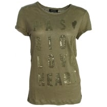 Mos Mosh Crave Tee - Light Army