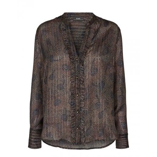 Mos Mosh Damia Peacock Shirt