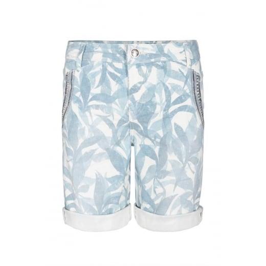 Mos Mosh Etta Leaves Shorts