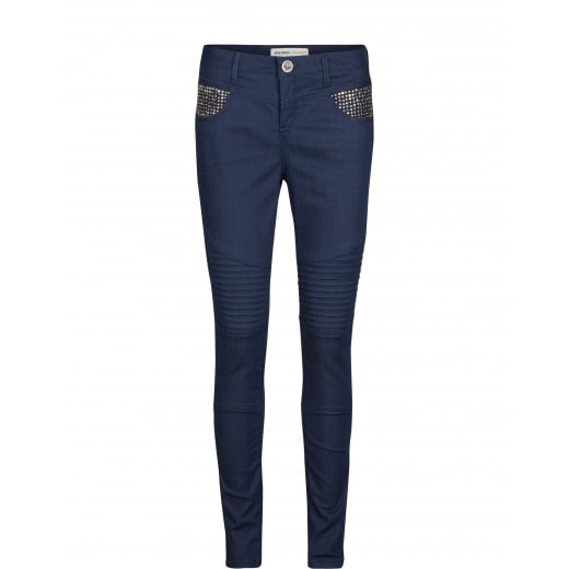 Mos Mosh Ozzy Pure Biker - Blue Denim