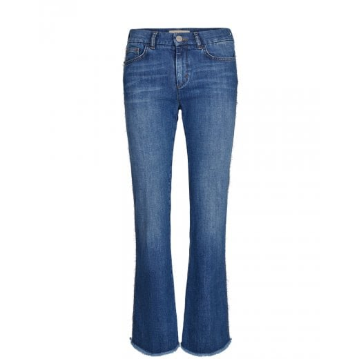 Mos Mosh Percy Frill Flare Jeans