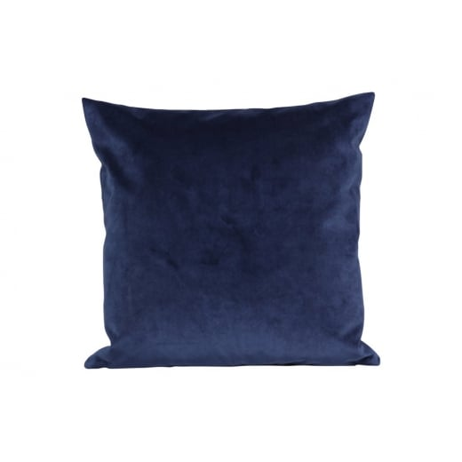 My Bolig Velour Cushion - Blue