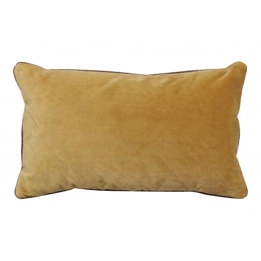 My Bolig Velour Cushion - Gold