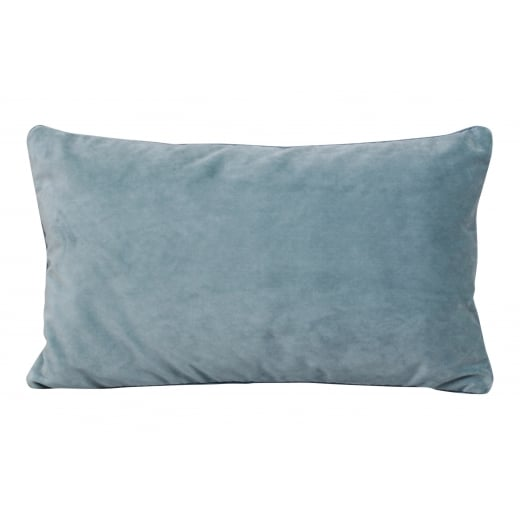 My Bolig Velour Cushion - Sea Edward