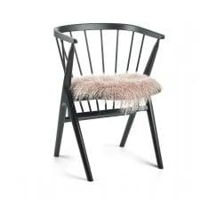 Natures Collection  Tibetan Sheepskin Seat Pad - Rosa
