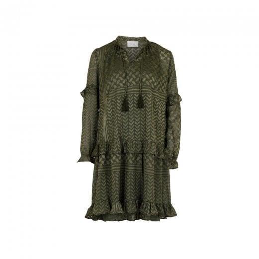 Neo Noir Abela Burnout Dress