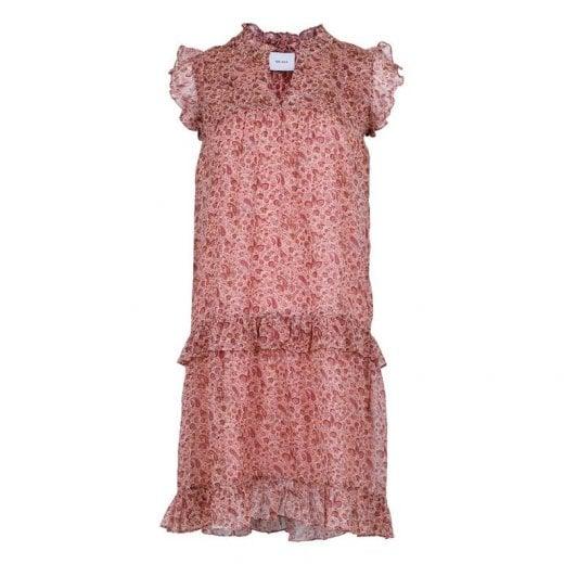 Neo Noir Aysha Printed Dress