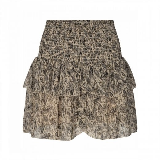 Neo Noir Carin Paisley Skirt