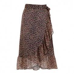 Neo Noir Mika Printed Skirt