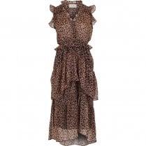 Neo Noir Selma Printed Dress - Fairy