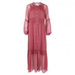 Neo Noir Vivi Dress - Dusty Rose
