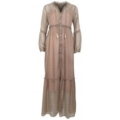 Neo Noir Vivi Dress - Sand