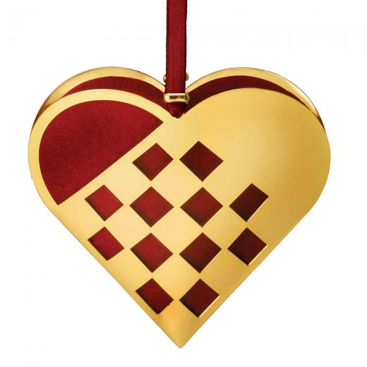 Nordahl Andersen Braided Christmas Heart