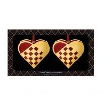 Nordahl Andersen Braided Heart gift box large