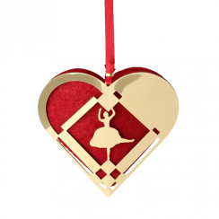 Nordahl Andersen Christmas Heart with a Ballerina