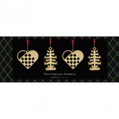 Nordahl Andersen Miniature Heart and Fir Tree gift box