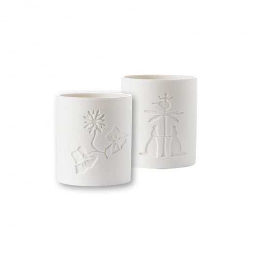 Nordahl Andersen Palm w. dancer & Water Lily candleholder