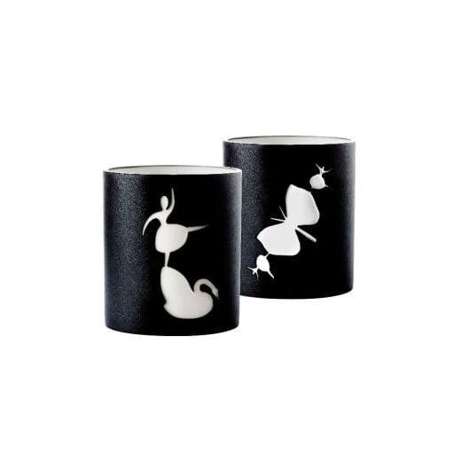 Nordahl Andersen Swan & Butterfly Candleholders