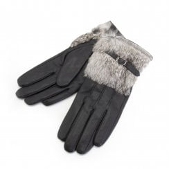 Onstage Gloves - Black Leather