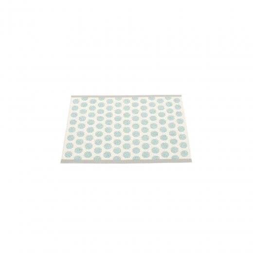 Pappelina Dotted Pattern Mat/Rug - Turquoise/Grey