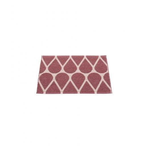 Pappelina Drop Style Mat/Rug - Taupe/Rose